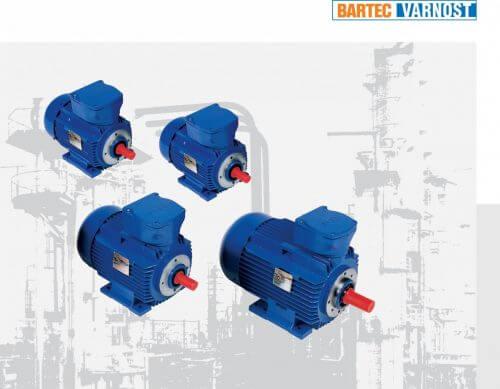 Exd IIB T4 -T3 elektromotory