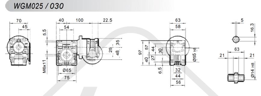 tabuľka prevodovka wgm030