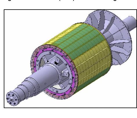 elektromotor rotor 30kw