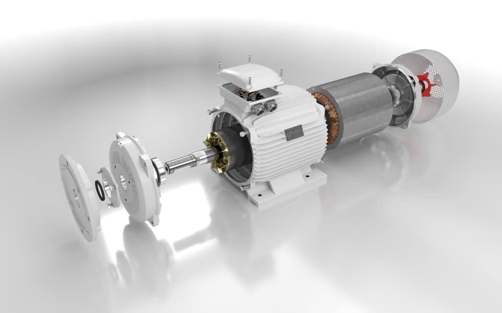 elektromotor rozobratý 75kw