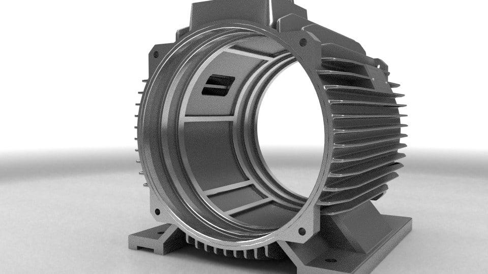 elektromotor stator 110kw